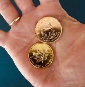 Geld oder Gold?